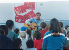 Tom at Caltech Children's Center