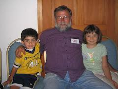Tom with Elias and Jennifer