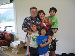Tom with Krita, Jessica, Elias and Vicki