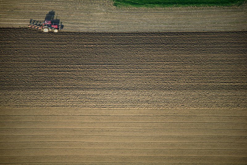 Traktor at work