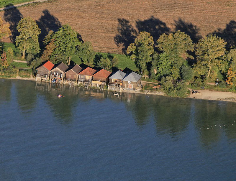 Holiday houses at Lake Ammer