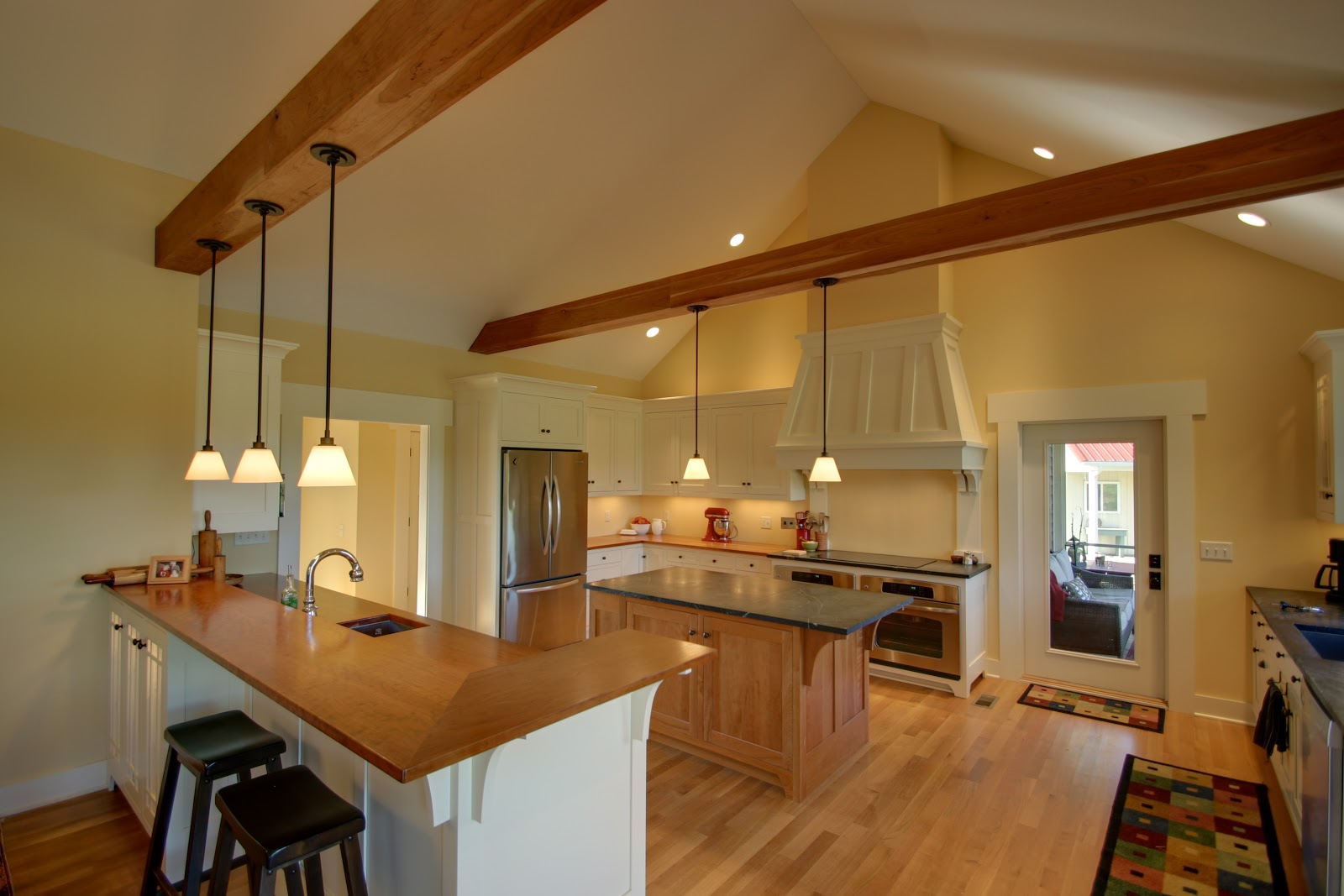 New Craftsman-Style Home title=