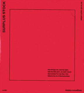 Cover Album of Surplus Stock