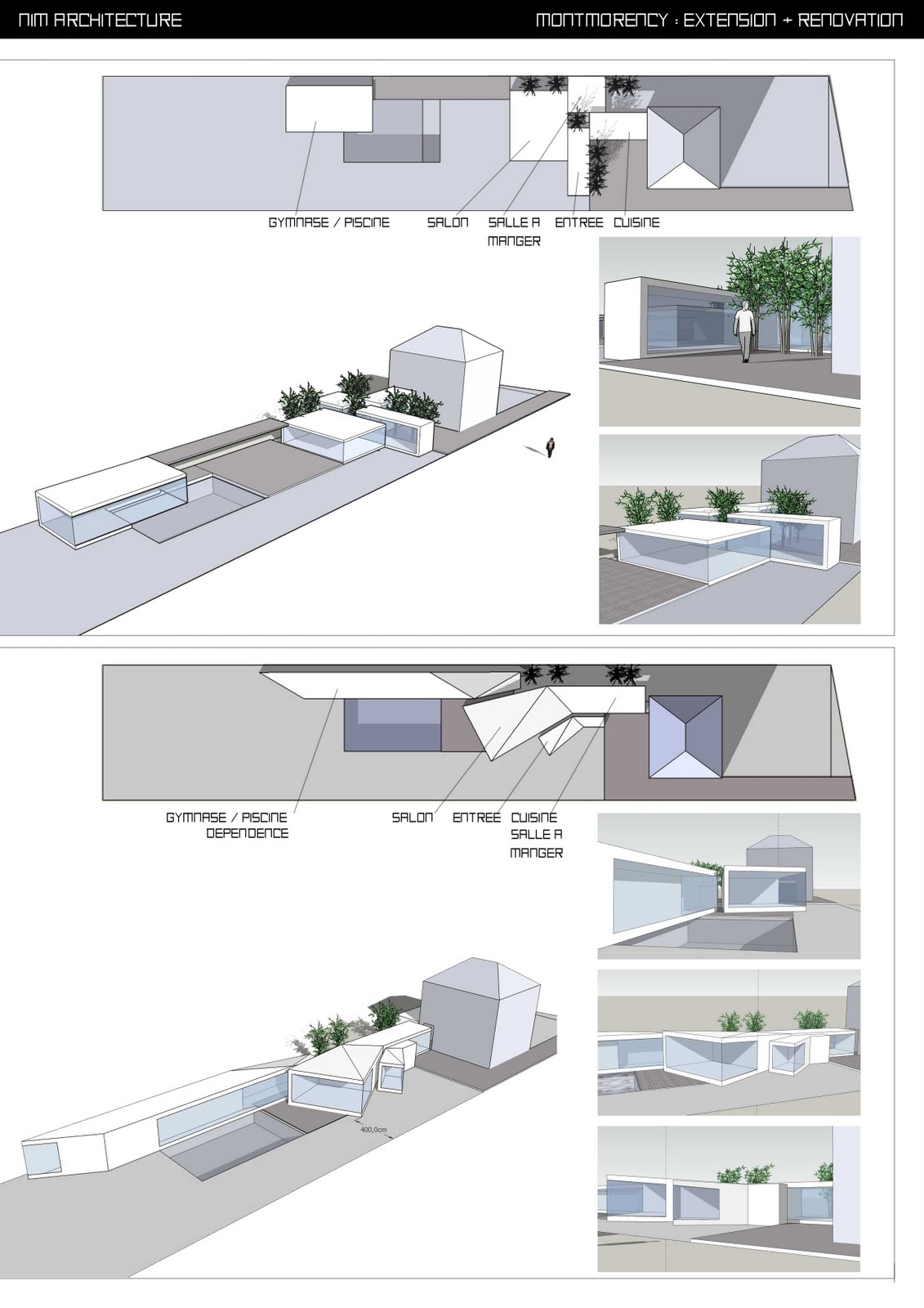 nim architecture extension montmorency premiers dessins. Black Bedroom Furniture Sets. Home Design Ideas