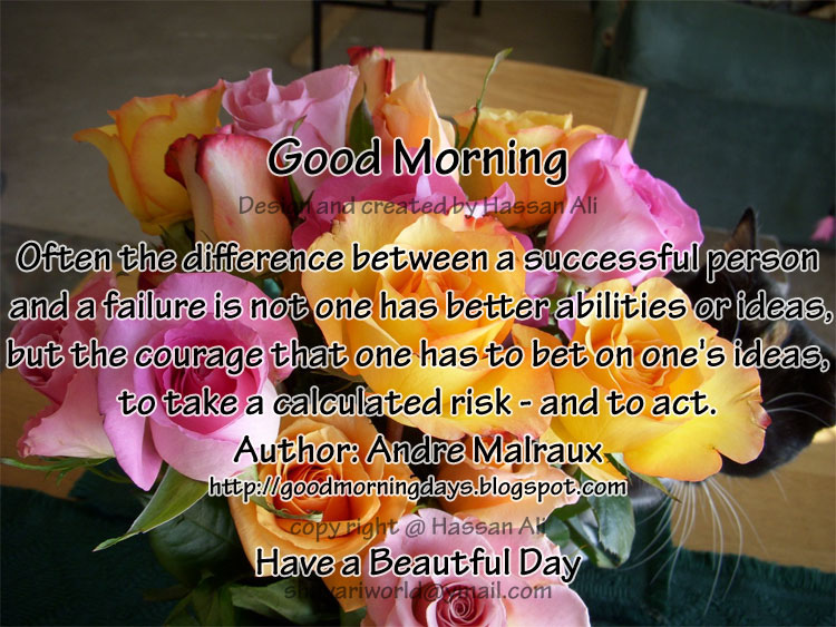 Good Morning Quotes for 05-05-2010