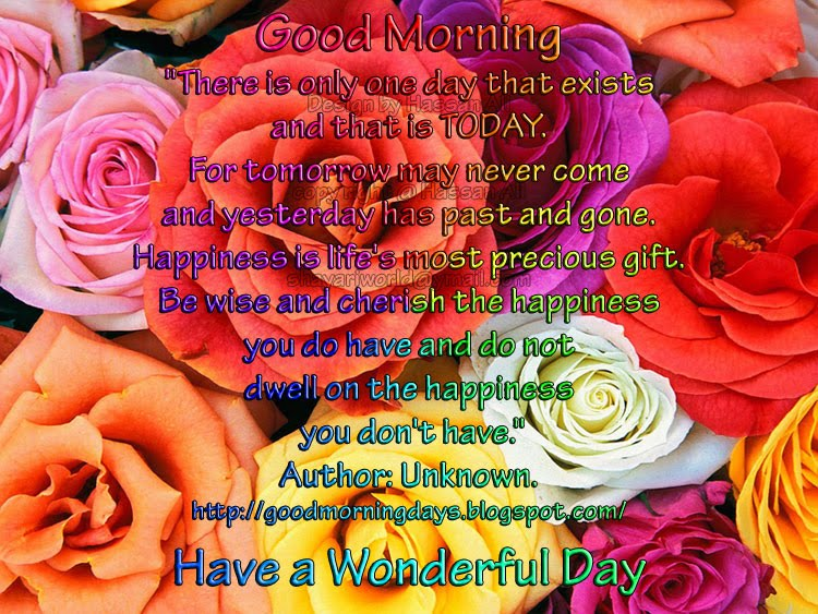 Good Morning Thoughts for 19-04-2010
