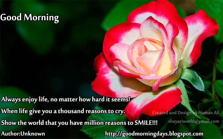 Good Morning Saturday.. 8 Inspiring Beautiful Quotes for the day