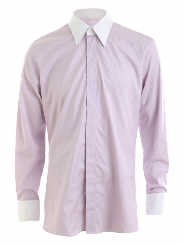 Sauvage purple dress shirt