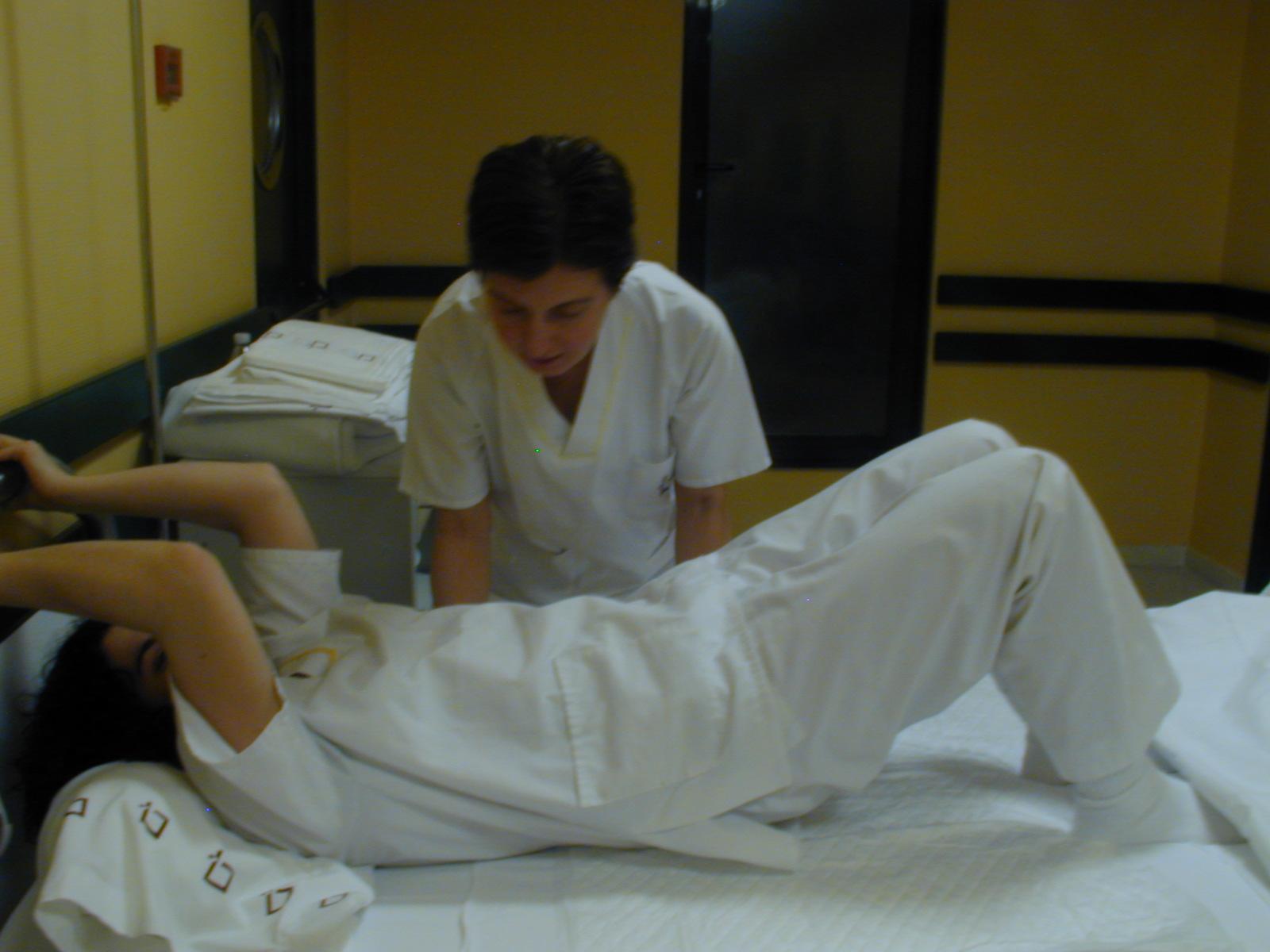 Baño General Del Paciente En Cama:de la cama 1 1 con ayuda del paciente 1 2 sin ayuda del paciente