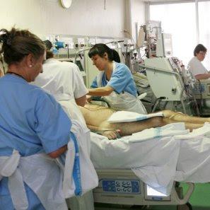 los cuidados diarios del paciente en la uci: | apuntes auxiliar ... - Bano General Del Paciente En Cama