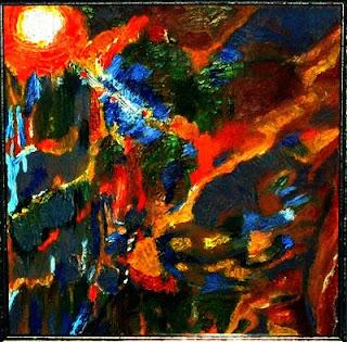 Bosque encendido (pintura)