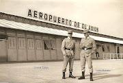 Foto del antiguo Sahara Español. Aeropuerto del Aaiun.