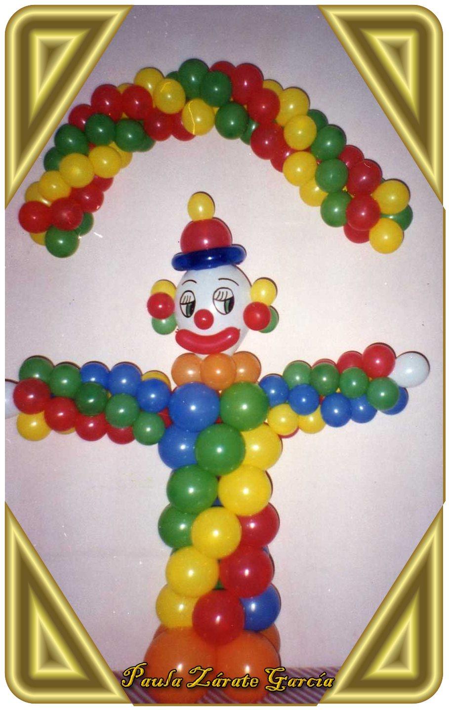 Como hacer payaso con globos auto design tech - Hacer munecos con globos ...