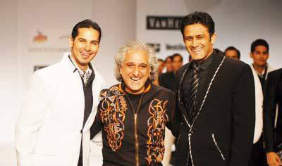 Manoviraj Khosla with Dino & Anil
