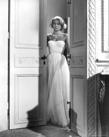 grace kelly to catch a thief blue dress. I really love Grace Kelly#39;s