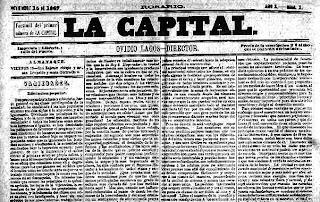 Primer ejemplar del diario