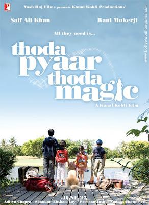 Thoda Pyaar Thoda Magic, Cast : Saif Ali Khan,Rani Mukherjee,Rishi Kapoor,Amisha Patel, Music Director : Shankar Mahadevan,Ehsaan Noorani,Loy Mendonca Lyricist/s : Prasoon Joshi