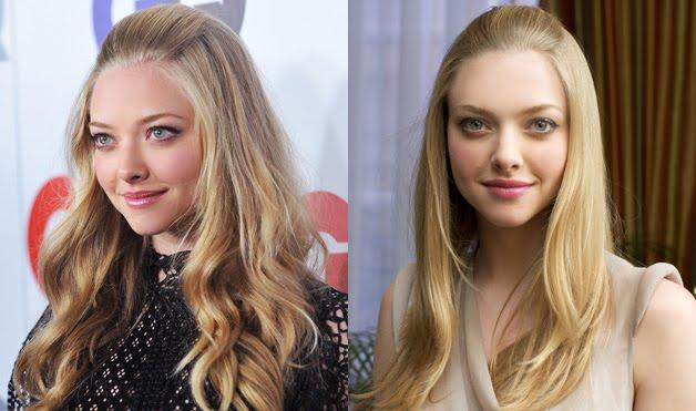 Wavy Hair Style (2009) Straight Hair (2010)