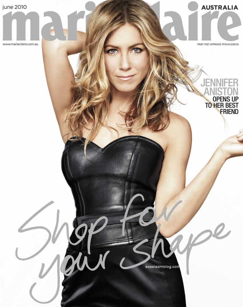American actress jennifer aniston is the cover star for the women s