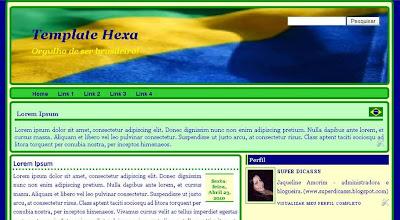 Template Hexa