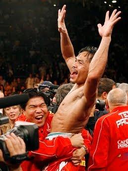 Pacquiao WBO Welterweight Champion