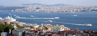 Estambul barcos Haliç Cuerno de Oro