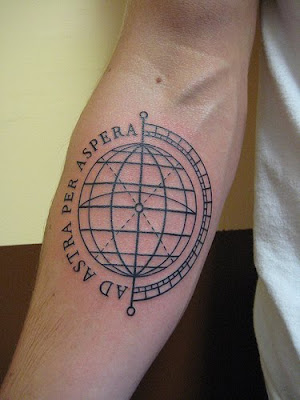 Label: GLOBE TATTOO sleeve