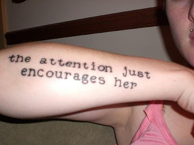 LYRIC TATTOOS on half sleeve. Posted by tattoo design at 8:19 AM