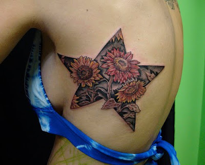 sunflower tattoo. sunflower tattoo designs for