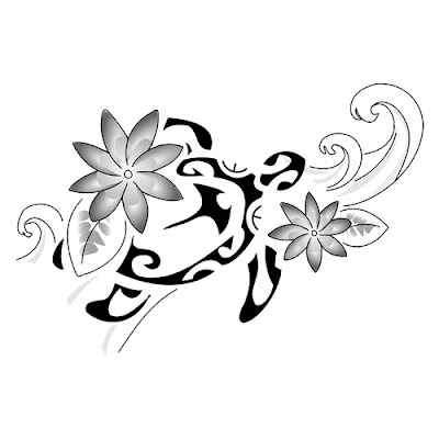 Amazing Angel Tattoo Designs | Girls Tattoo Designs flower tattoo with maori