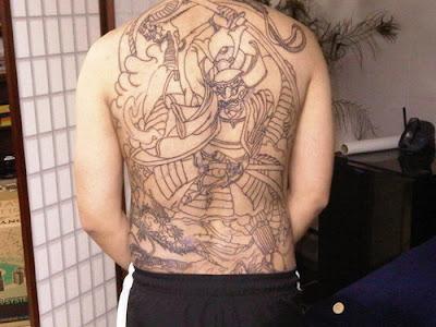 samurai tattoo. samurai tattoo. back tattoo yakuza; back tattoo yakuza. Eye4Desyn