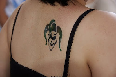 clown tattoos for girls