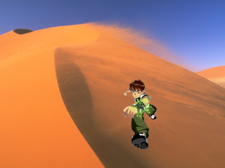 Ben Ten 10 Wallpapers in Classic Desert Wind background