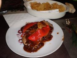 pecto c/salsa de mostaza y miel
