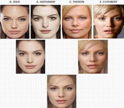 終極美人 最漂亮臉蛋 - 終極美人 16女星合成之最漂亮的臉蛋