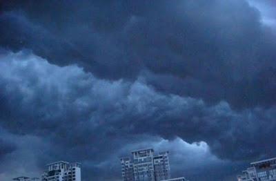 黑龍江恐怖奇異天象 - 黑龍江出現恐怖的奇異天象