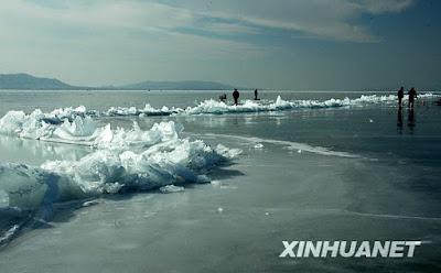 天津 冰凌奇觀 - 天津出現冰凌奇觀