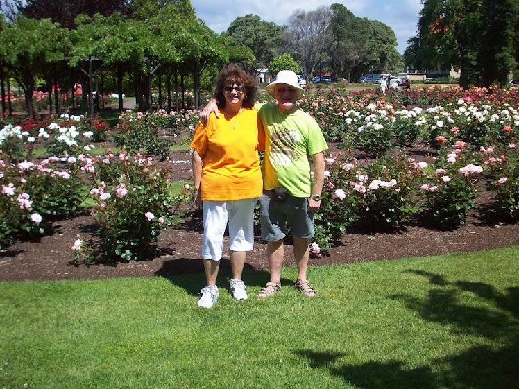 Klamath Falls Rose Garden, Rotorua