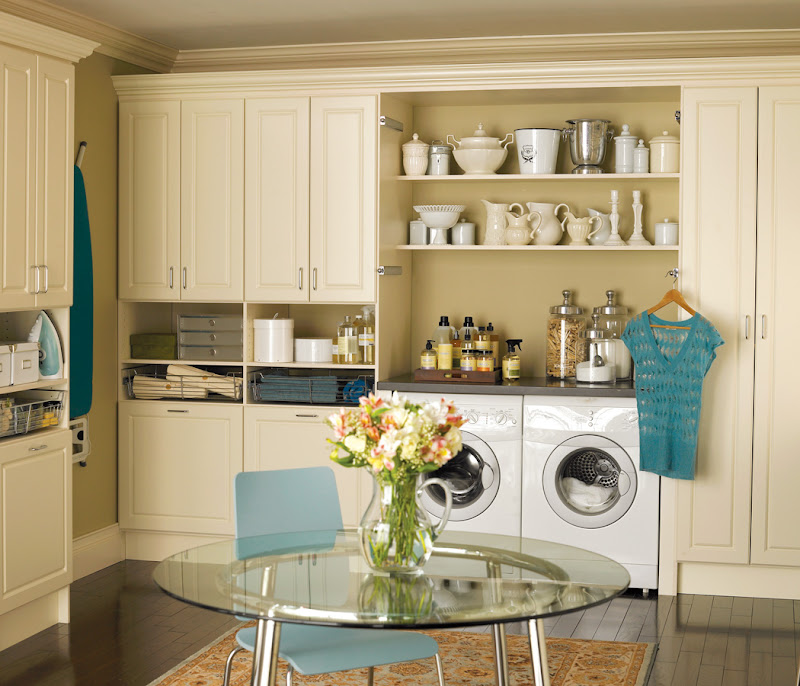 Lovely Laundry Rooms title=