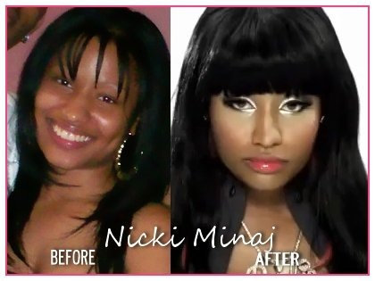 nicki minaj before and after body. nicki minaj fake ody before and after. more is nicki minaj body fake.