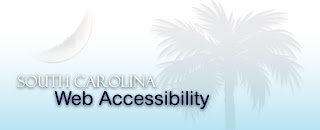 logo of South Carolina Web Accessibility