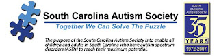 Image of South Carolina Austism Society Logo