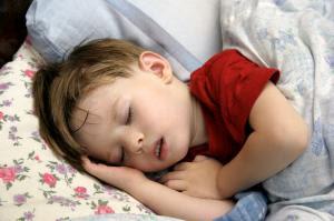 image of child sleeping