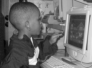 Image of Boy at Computer