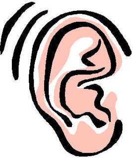 clipart of a human ear