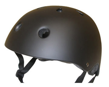 photo of a bike helmet