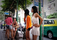 an estimated 800,000 women working as prostitutes in the Philippines ...