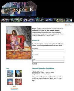 Megan Coyle's website
