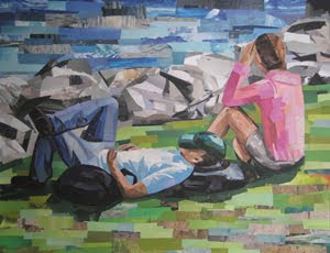 Riverside Loungers by Megan Coyle