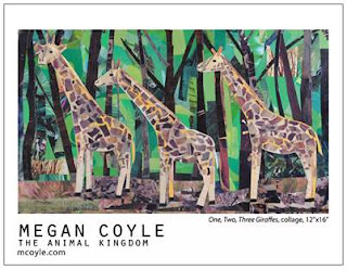 The Animal Kingdom by collage artist Megan Coyle